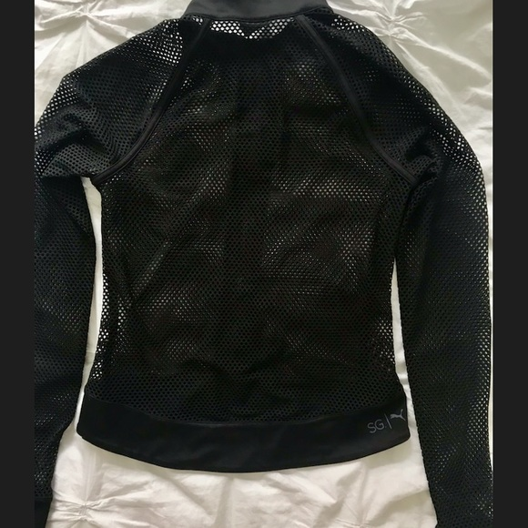 c5b8023fe6 Puma x SG Mesh Jacket